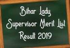 ICDS Bihar Lady Supervisor